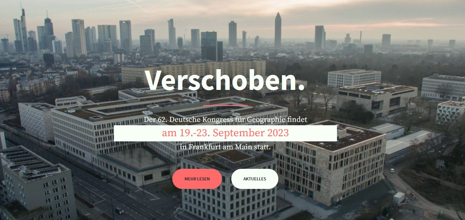 Geographie Studium Berlin